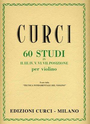 CURCI - 60 Studi in II, III, IV, V, VI, VII posizione
