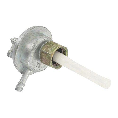 Xfight-Parts 1170305-1-2T50 Benzinhahn Unterdruck 2 Anschlüsse Mutter Linksgewinde 16x1.5mm 4Takt 125ccm YY125T-28 1170305-1-2T50