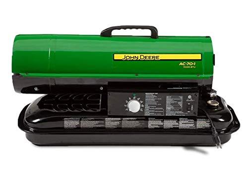 Cheapest Price! John Deere AC-75 Portable Kerosene Fired 75,000 BTU Heater AC-75
