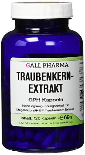 Gall Pharma Traubenkernextrakt GPH Kapseln , 1er Pack (1 x 120 Stück)