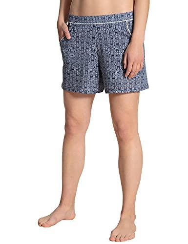 CALIDA Damen Favourites Spring Shorts Pyjamaunterteil, Twilight Blue, 32-34