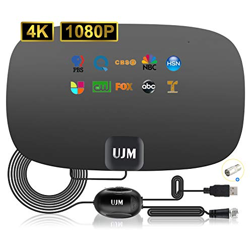 UJM TV Antenna Indoor Up to 200+ Miles,Digital...