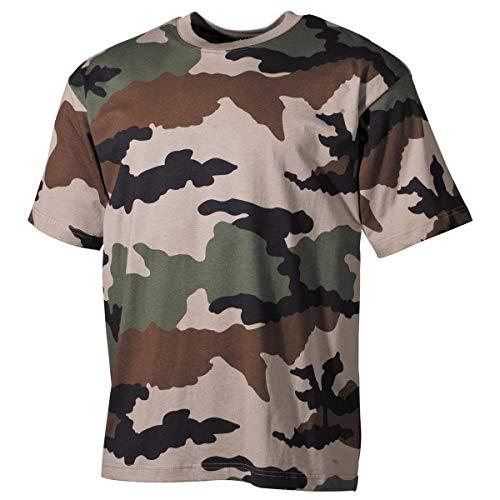 MFH T-Shirt Tarn da Uomo dell'Esercito Americano (CCE Tarn/S)