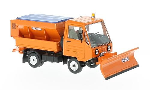 Multicar M25, orange, 1980, Modellauto, Fertigmodell, IST Models 1:43