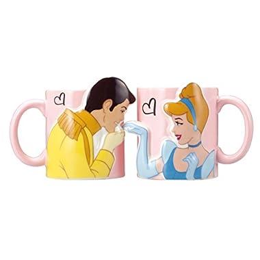 Disney kiss mug Cinderella SAN2474 SunArt Japan Princess