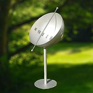 Gartentraum - Gartentraum Reloj de Sol de Acero Inoxidable con Media Esfera Hueca - Millenium Globe
