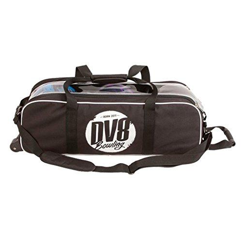 DV8Tactic Triple Tote kein Schuh Tasche Bowling Bag, Schwarz