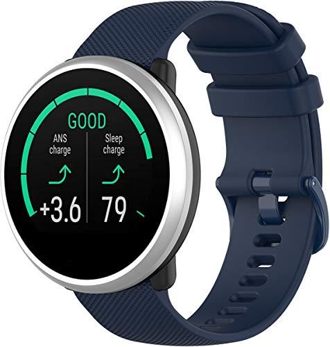 Shieranlee Compatibile per Polar Ignite Cinturino, 20MM Quick Release Silicone Band per Huawei,Galaxy Watch (42mm), Gear Sport,Gear S2 Classic