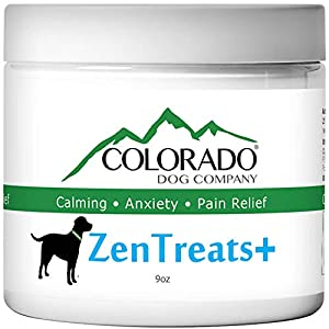 ZenTreats+ by ColoradoDog - 100% Natural Hemp Seed Oil Dog Treats - 120 Count Hemp Soft Chews – for Dog Arthritis -Dog Calming - Dog Anxiety - Dog Pain Relief - Made in USA