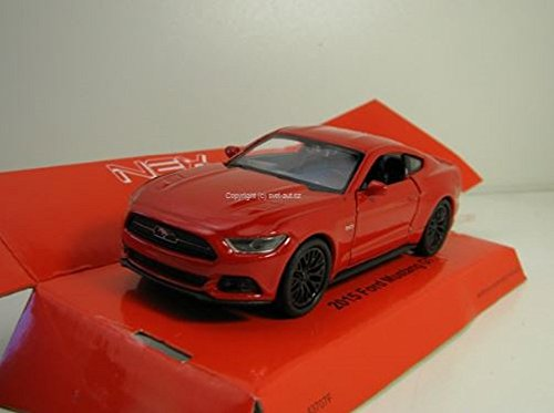Welly DieCast metall Modellauto 1:36-39 Ford Mustang GT 2015 rot neu und box