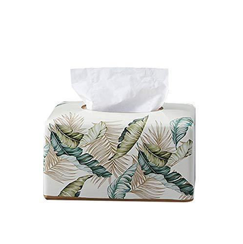 LIUCHANG Caja de pañuelos Caja de pañuelos de cerámica casero Ligero Moderno salón Comedor decoración de Bombeo liuchang20
