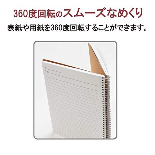 マルマンノートスパイラルノートベーシックB56.5mm横罫40枚N2363冊セット