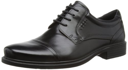 Best Price ECCO Men's Dublin Cap Toe Oxford,Black,43 EU9
