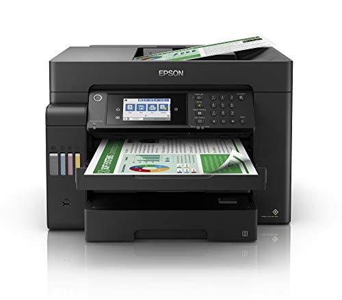 Epson EcoTank ET-16600 | Impresora Alto Rendimiento Multifunción WiFi A3+ con Impresión Doble Cara Automática | Gran Velocidad de Impresión y Escaneado | Imprime / Escaner / Copiadora / Fax