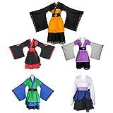 ULLAA Uzumaki Naruto Hatake Kakashi Akatsuki Hyuga Hinata Disfraz de Cosplay, Vestido de Kimono Yukata japonés, Carnaval de Halloween, Ropa de Carnaval de Halloween