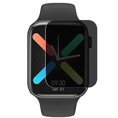 Vaxson Anti Spy Schutzfolie, kompatibel mit K8 IWO Max smart watch Smartwatch, Displayschutzfolie Bildschirmschutz Privatsphäre Schützen [nicht Panzerglas]