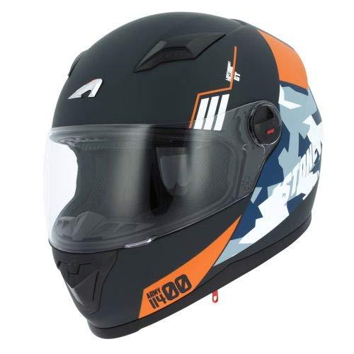 Astone Helmets - Casque intégral GT2 Army - Casque de moto