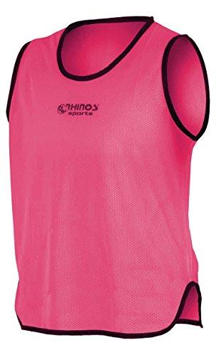 RHINOS sports Trainingsleibchen, Markierungshemd pink 128