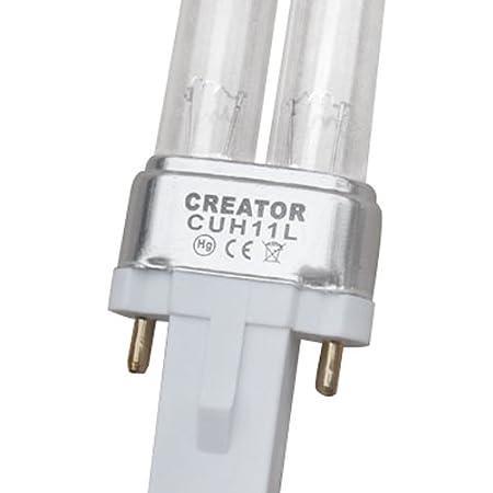 AquaOne 9 Watt UVC Ersatzlampe mit G23 Sockel Filter
