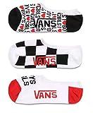 Vans I Love Boys I Love Girls 3er Pack Socken (37 EU - 41 EU, Mehrfarbig)