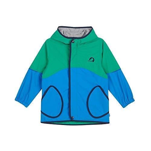 Finkid Aarre Colorblock-Blau-Grün, Kinder Jacke, Größe 120-130 - Farbe Blue - Navy