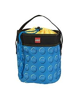LEGO STORAGE CINCH BUCKET - BLUE
