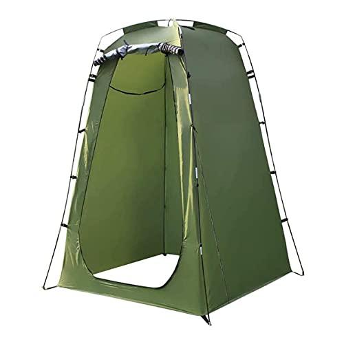 JLKDF Carpa de baño portátil para Acampar - Carpa de Ducha de privacidad Carpa de vestidor Plegable de Playa Sombrilla para habitación de Campamento Toldo de Refugio al Aire Libre