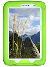 Bobj Rugged Case for Samsung Galaxy Note 8 Tablet, Model GT-N5100, GTR-N5110, GT-N5120 - BobjGear Custom Fit - Patented Venting - Sound Amplification - BobjBounces Kid Friendly (Gotcha Green)