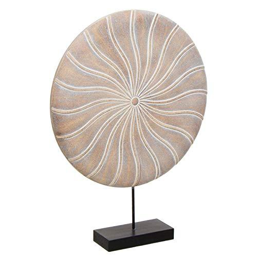 Vidal Regalos Figura Decorativa en Peana Resina 40 cm