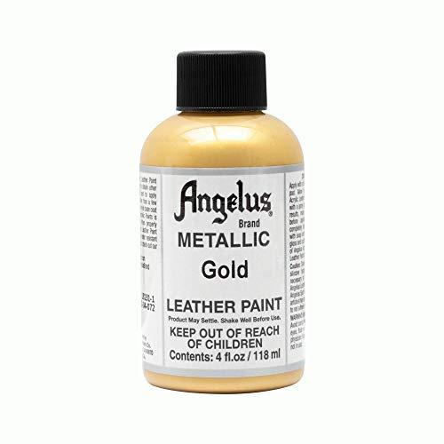 Angelus Leather Paint 4 oz Gold