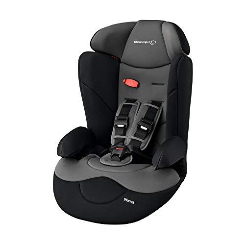 Bébé Confort Trianos Seggiolino Auto 9-36 Kg Reclinabile, Gruppo 1/2/3, per Bambini da 9 Mesi a 12 Anni, Facile da Installare, Nero (Black...