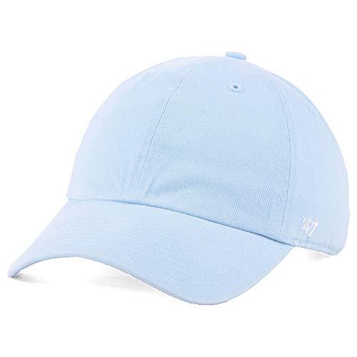 '47 Blank Classic Clean Up Cap, Adjustable Plain Baseball Hat for Men and Women – Pastel Light Blue