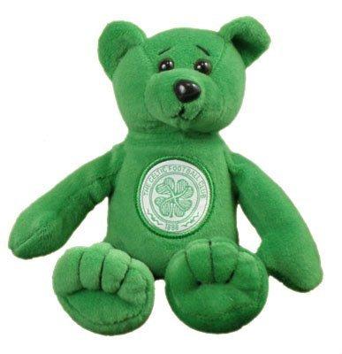 Celtic F.C. Glasgow Celtic Fc Official Beanie Teddy Bear