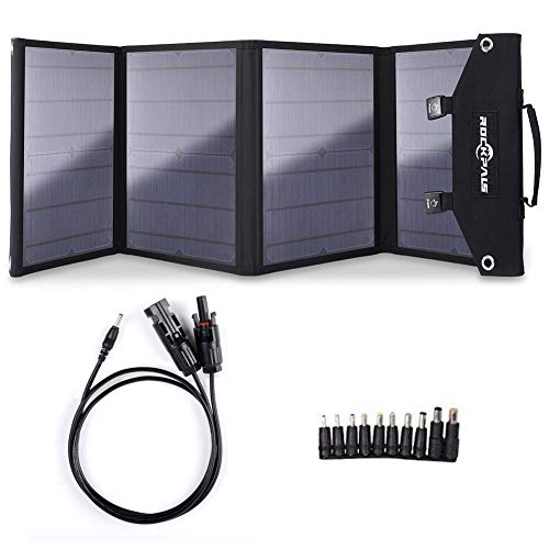 ROCKPALS SP003 100W Foldable Solar Panel for Jackery Explorer/Flashfish/BALDR/Goal Zero Portable...