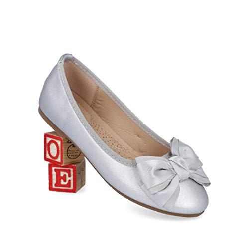 BUBUBBLE Bobble A2481-L Bailarinas NIÑA - Sintético para: NIÑA Color: Plata Talla: 36