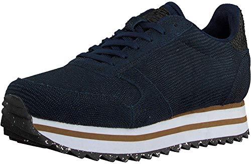 Woden Sneakers Ydun Pearl II Plateau 41, 010 Navy