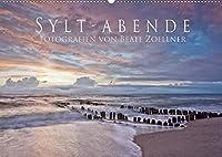 Sylt-Abende - Fotografien von Beate Zoellner (Wandkalender 2022 DIN A2 quer): Stimmungsvolle Fotos der Insel Sylt (Monatskalender, 14 Seiten )