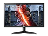 LG 24GL600F UltraGear Monitor Gaming 23.6' Full HD LED, 1920 x 1080, 1 ms, Radeon FreeSync 144 Hz, Contrasto Dinamico 5 M, 2 x HDMI, 1 x Display Port, Uscita Audio, Multitasking