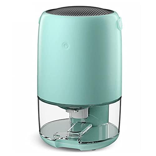Il deumidificatore per uso domestico da 1100 ml include sette tipi di luci d'atmosfera. Piccolo mini deumidificatore adatto per la casa, la camera da letto, il seminterrato,Blue