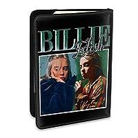 Billie Eilish ビリー・アイリッシュ パスポートケース メンズ 男女兼用 パスポートカバー パスポート用カバー パスポートバッグ ポーチ 6.5インチ高級PUレザー 三つのカードケース 家族 国内海外旅行用品 多機能
