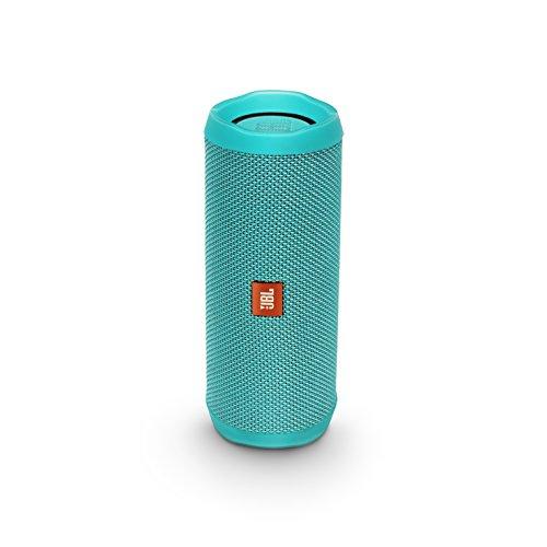 JBL FLIP4 Bluetoothスピーカー IPX7防水 パッシブラジエーター搭載 ポータブル ティール JBLFLIP4TEL