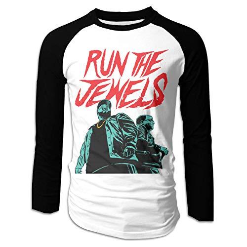 henghuidashi Run The Jewels Raglan Long Sleeve Baseball 2 Tone T-Shirt