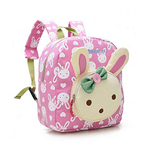 WITERY Sac à Dos Maternelle Enfant Lapin Cartables...