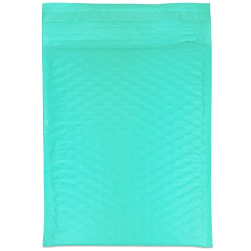 "Beauticom TEAL (30 Pieces) #0, 6x10 Self-Seal Poly Bubble Mailer 6.25"" x 9 1/4"" Photo #7"