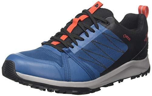 The North Face M LW FP II GTX, Zapatillas de Senderismo Hombre, Azul Marroquí TNF Negro Gwk, 42 EU