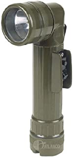 5ive Star Gear Head F-9412-2D GI Spec Anglehead Flashlight, Olive Drab