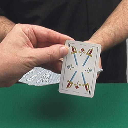 Tres Cartas Tres Espectadores - Juego de Magia con explicaciones en vídeo. Mucho más fáciles de comprender. Desplaza la Imagen a la Izquierda y podrás Ver una demostración en vídeo.