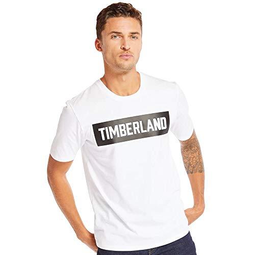 Timberland Camiseta de manga corta visón Brook 3-D en relieve marca Carrier...