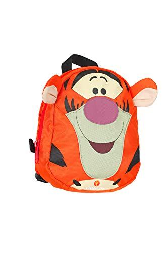 LittleLife Kid's Tigger Face Disney Rugzak met veiligheidsteugels, Oranje, One Size