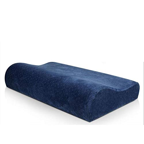 Adjustable Memory Foam Pillow Bamboo Pillow for Sleeping Cervical Pillow for Neck Pain Neck Support for Back Stomach Side Sleepers Orthopedic Contour Pillow,Best Gift